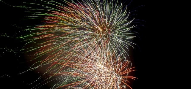 Fireworks Display for the El Cotillo Fiesta