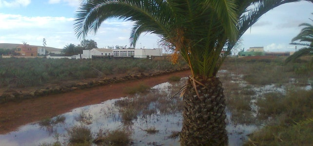 Heavy Rain in Fuerteventura in October