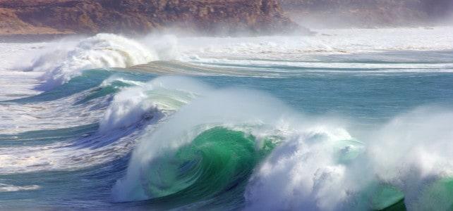 Big Waves in El Cotillo