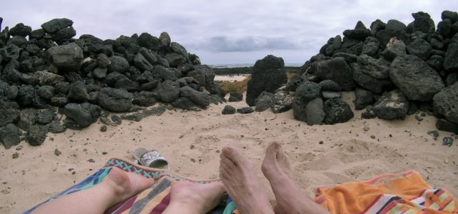 Rock Pools at the El Cotillo Lagoons