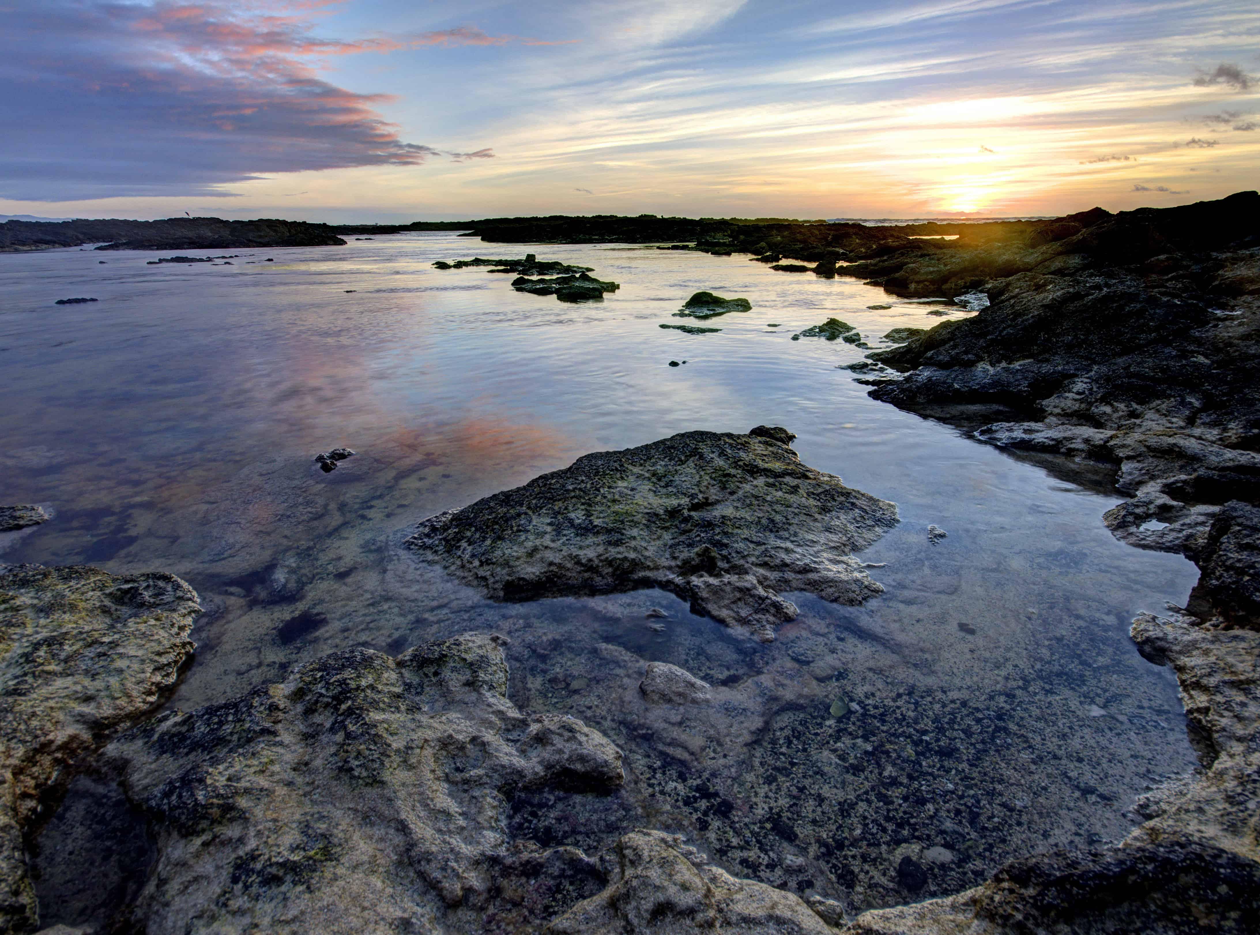 Lagoons Beach Sunset