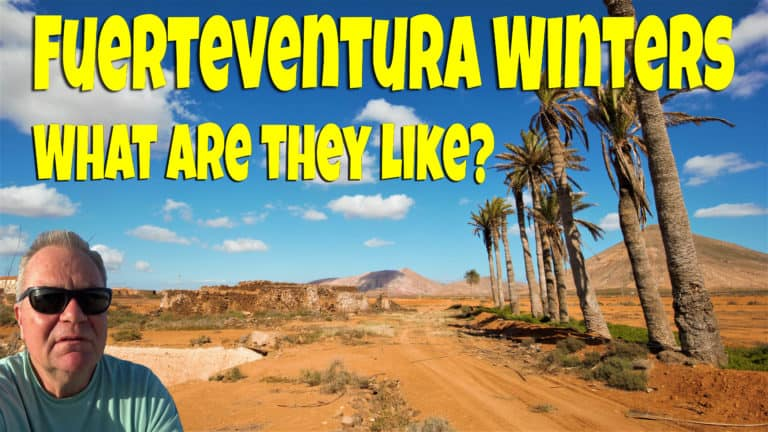 What is the weather like in Fuerteventura in winter?
