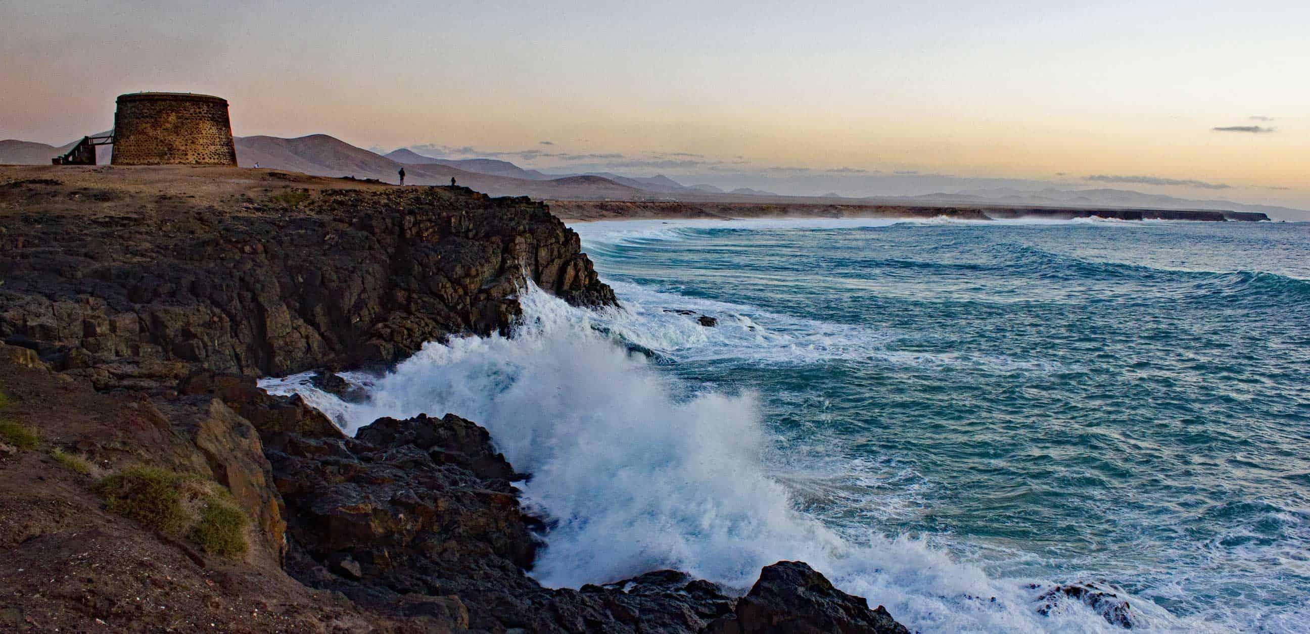 West coast of Fuerteventura
