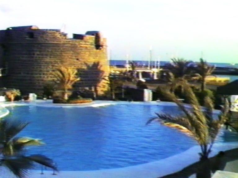 Caleta de Fuste in 1987