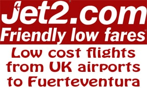 Jet2 flights to Fuerteventura